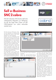 Sell e-Business SNC2cobra